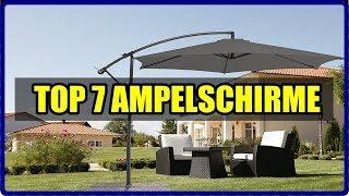 TOP 7 AMPELSCHIRM MODELLE 2018 ★ Ampelschirm Test ★ Schöne Ampelschirme Rhodos, Ampelschirm Venus,..