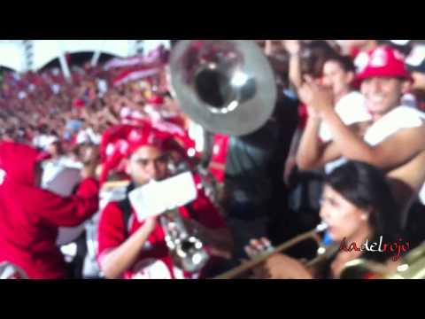 """""""Entrada de Bombos y Trompetas - Barón Rojo Sur - L.H.D.L.C - América vs Cali 14 de Marzo 2012"""" Barra: Baron Rojo Sur • Club: América de Cáli"""