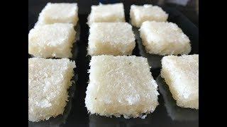 Fresh Coconut Burfi in 15 min | Kobbari Mithai Recipe | Indian Traditional Sweet