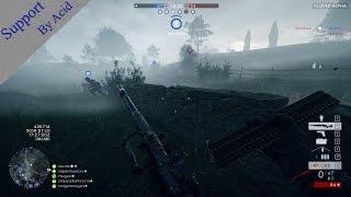 Battlefield 1 Closed Alpha - Support Gameplay