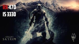 The Elder Scrolls V Skyrim Special Edition - RX 470 - i5 3330 - FPS Test