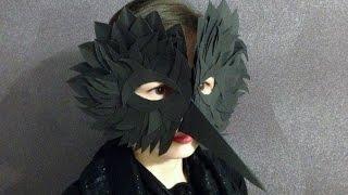 Как сделать маску птицы своими руками из бумаги - Скрапбукинг с детьми 3 / Aida Handmade