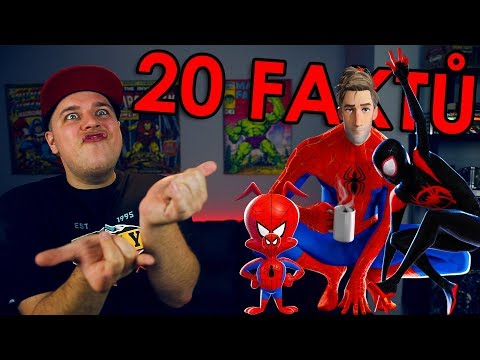 20 FAKTŮ - Spiderman