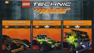Hry Pre Deti Zadarmo: Lego Technic Hra - Preteky Auticiek - Najlepsie Hry Pre Deti