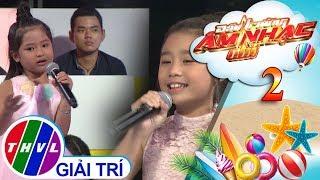 THVL | Đấu trường âm nhạc nhí - Tập 2[8]: Bống bống bang bang - Tuyết Anh, Hạnh Trang