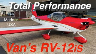 RV-12is Kit Plane by Van's Aircraft - Light Sport Aircraft (LSA)