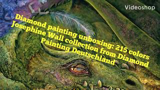 Diamond Painting Unboxing: 215 Colors Original Josephine Wall From Diamond Painting Deutschland