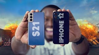 Apple iPhone 12 vs Samsung Galaxy S21 5G - Which is BETTER?