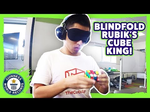 Blindfolded Rubik's Cube World Record