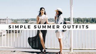 Simple Summer Outfits!