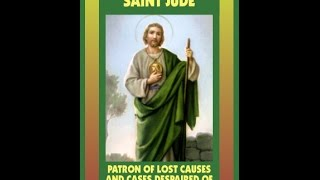 St Jude tells us to beware of Dejection & Hopelessness .