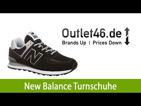 New Balance ML574 Sneaker Herren Turnschuhe Schwarz