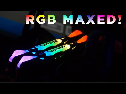 Patriot Viper RGB DDR4 3600mhz Memory – RGB to the MAX!