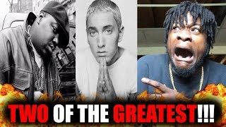 Biggie & Eminem On The Same Track?! | Biggie ft Eminem - Dead Wrong REACTION! REVISITED
