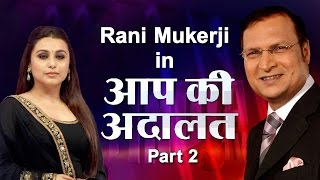 Rani Mukerji in Aap Ki Adalat (Part 2) - India TV