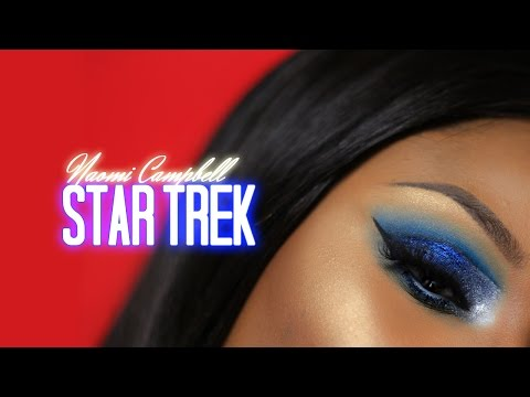 Galaxy Space Blue Makeup Tutorial | Youkeyy