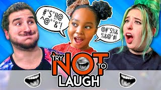 Try Not To Laugh Or Smile While Watching | Kids Read Dirty Jokes (Ep. #148)
