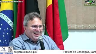 Prefeito de Conceição, Samuel Lacerda, fala sobre a pandemia e os planos de vacinação no município.