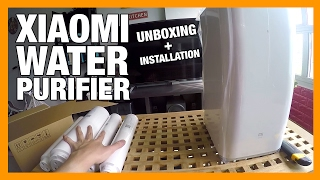 Xiaomi Water Purifier Unboxing & Installation