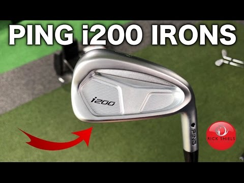 NEW PING i200 IRONS REVIEW
