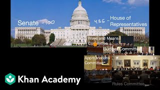 How a bill becomes a law | US government and civics | US government and civics | Khan Academy