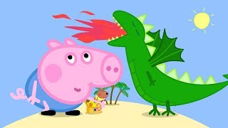 Peppa Pig English Episodes in 4K | George and the BIG Dragon! Peppa Pig Official