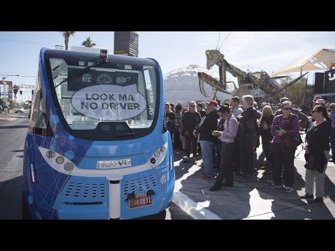 Self-driving bus company says vehicle safe following crash