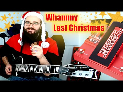 When you have 8 Strings but only one hand to play your favourite Christmas Song