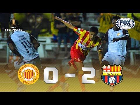 ALÔ, FLAMENGO! Melhores momentos de Progreso (URU) 0 X 2 Barcelona SC (EQU)