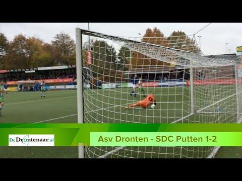 VIDEO | Uitgerekend Kevin van der Vlag velt namens SDC Putten het vonnis over Asv Dronten