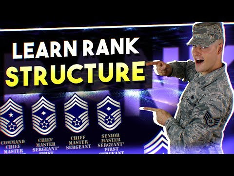 Air Force BMT Tips: LEARN RANK STRUCTURE Mp3