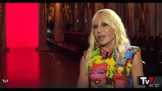 Intervista a Donatella Versace - Rai1 TV7 a cura di Barbara Modesti