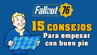Fallout 76 - Guía con 15 consejos y recomendaciones para empezar
