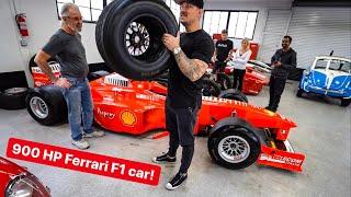 HOW TO EMBARRASS SUPERCAR OWNERS? BUY A FERRARI F1 CAR...