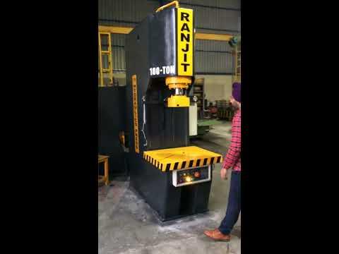 Automatic C Frame Hydraulic Press