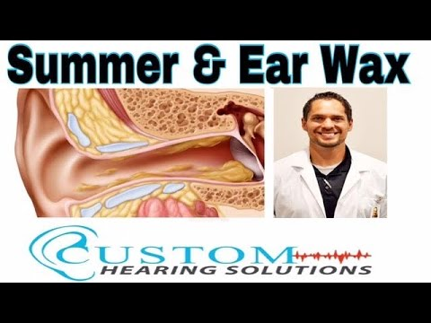 Keeping Your Ears & Hearing Aids Clean in the Summer