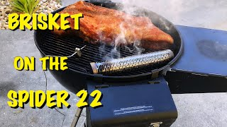 LOW N SLOW BRISKET ON THE WEBER KETTLE/SPIDER 22/HOW TO MAKE A PERFECT SELECT BRISKET