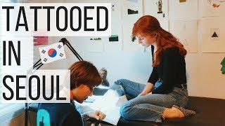 Getting a Tattoo in Seoul, Korea | VLOG