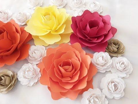 Diy champange paper flower tutorial diy tube diy small paper flower tutorial mightylinksfo