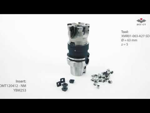 Hochvorschubfräsen – XMR01 Serie