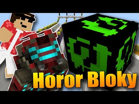 TEMNÉ HOROROVÉ LUCKY BLOCKY! - Minecraft Horor Lucky block Race w/Sajmon