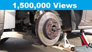 Wheel Bearing Replacement with Basic Hand Tools