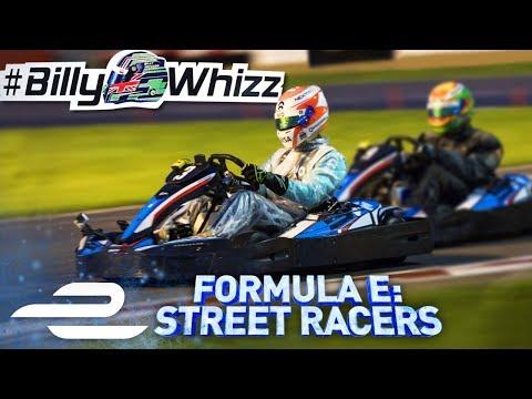 Go Kart Race For Billy Monger (Billy Whizz) Formula E: Street Racers - Full Episode