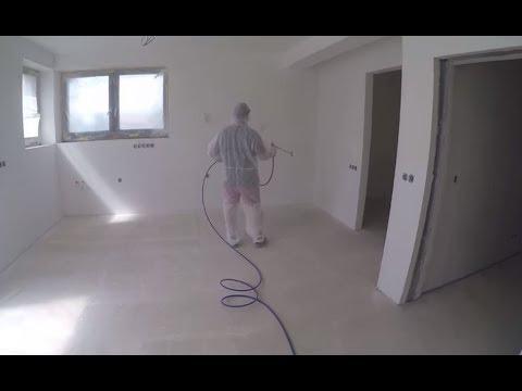 Malování stříkacím zařízením AIRLESS