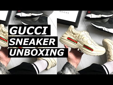 a509ab51ee9 Download GUCCI RHYTON SNEAKER UNBOXING + BALENCIAGA TRIPLE S COMPARISON