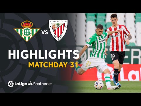 ⚽ HIGHLIGHTS I Real Betis 0-0 Athletic Club I LaLiga Matchday 31