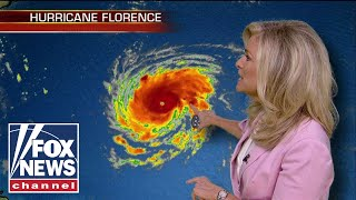 Hurricane Florence intensifies to category 2