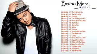 Bruno Mars Greatest Hit   Bruno Mars Full Album   Bruno Mars Playlist