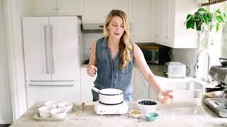 BLUEBERRY CRUMBLE (gf + vegan friendly)