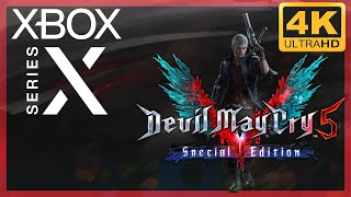 [4K] Devil May Cry V : Special Edition / Xbox Series X Gameplay